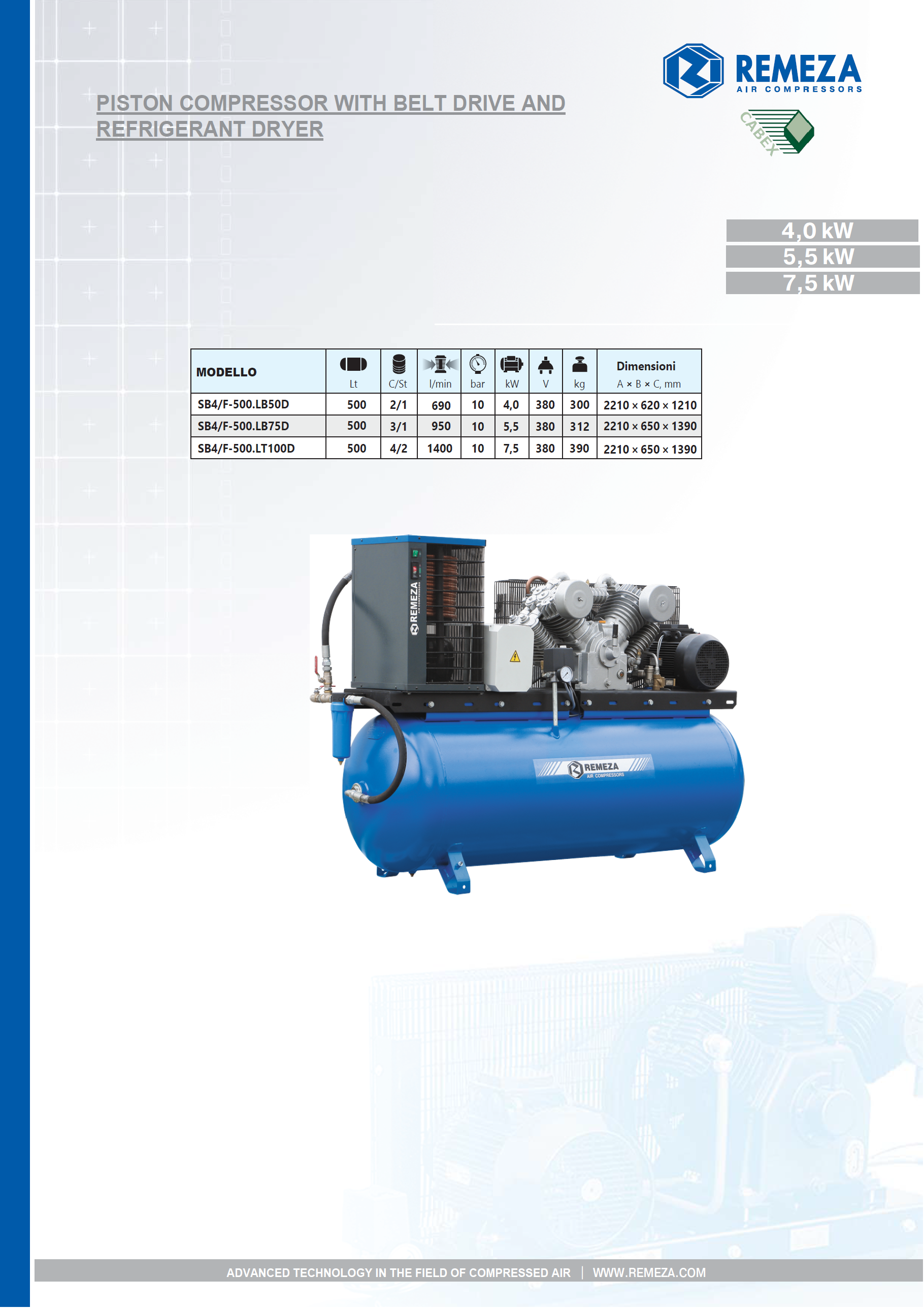 11_piston-compressors-with-belt-drive-ancd-refrigerant-dryer-remeza-series_pag_1